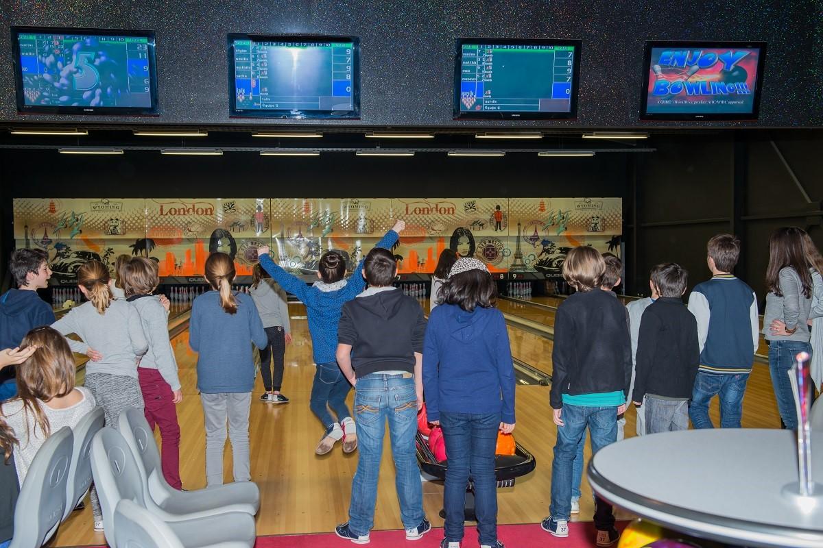 enfants bowling